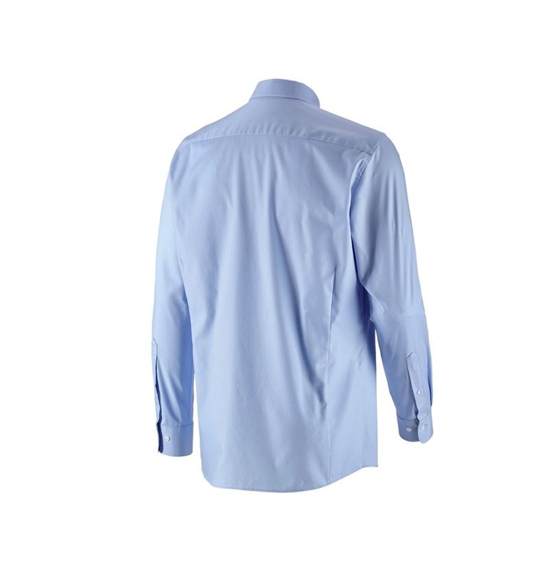 Shirts, Pullover & more: e.s. Business shirt cotton stretch, regular fit + frostblue 3