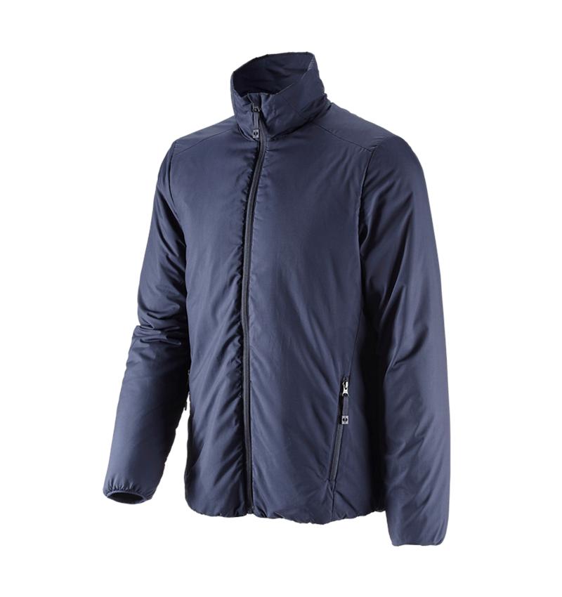Work Jackets: e.s. Padded jacket CI + navy