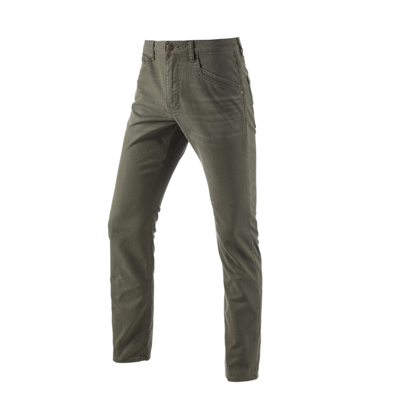 Work Trousers: 5-pocket Trousers e.s.vintage + disguisegreen