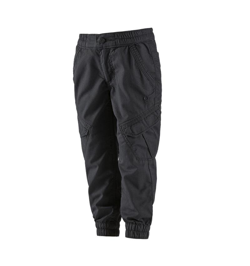 Trousers: Cargo trousers e.s. ventura vintage, children's + black