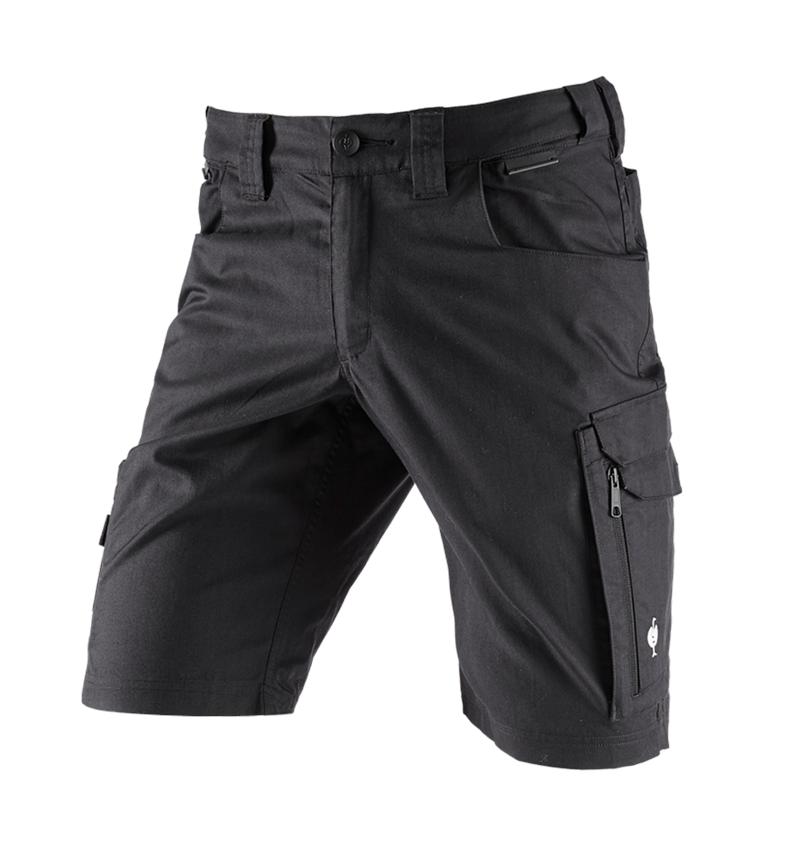 Work Trousers: Shorts e.s.concrete light + black