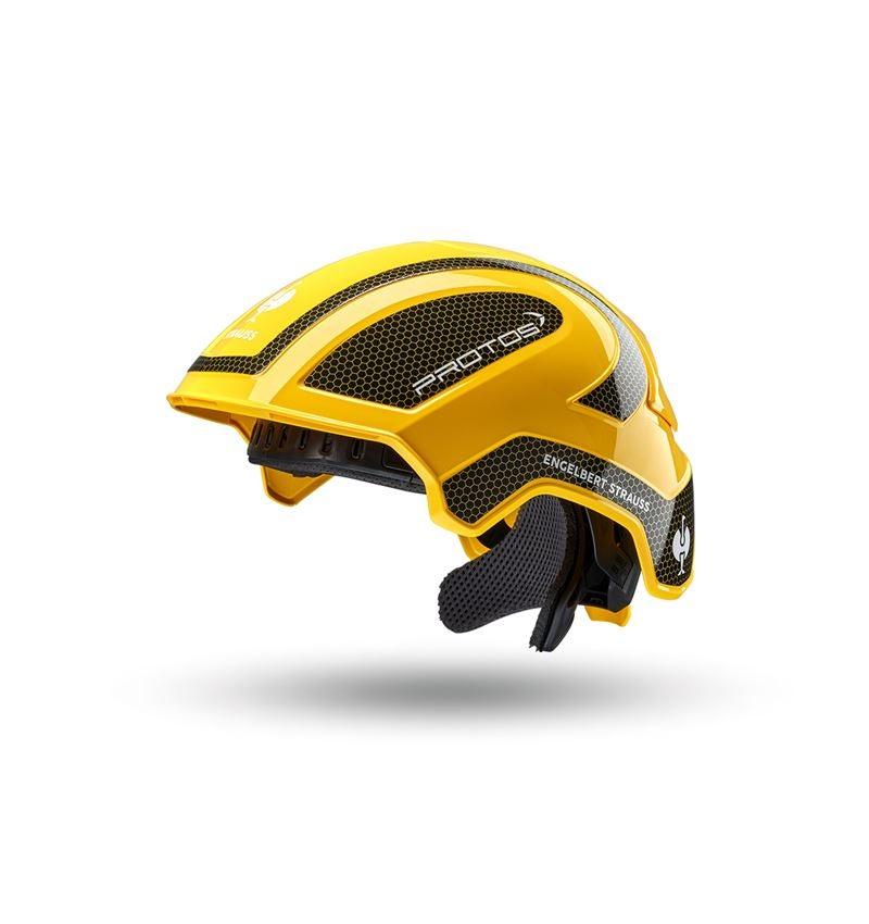 Hard Hats: e.s. Work helmet Protos® + yellow/black
