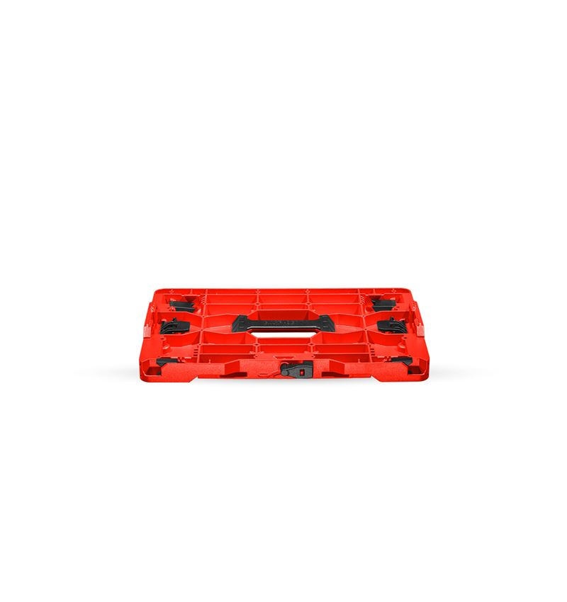 Tool Cases: STRAUSSbox hybrid adapter plate + red/black