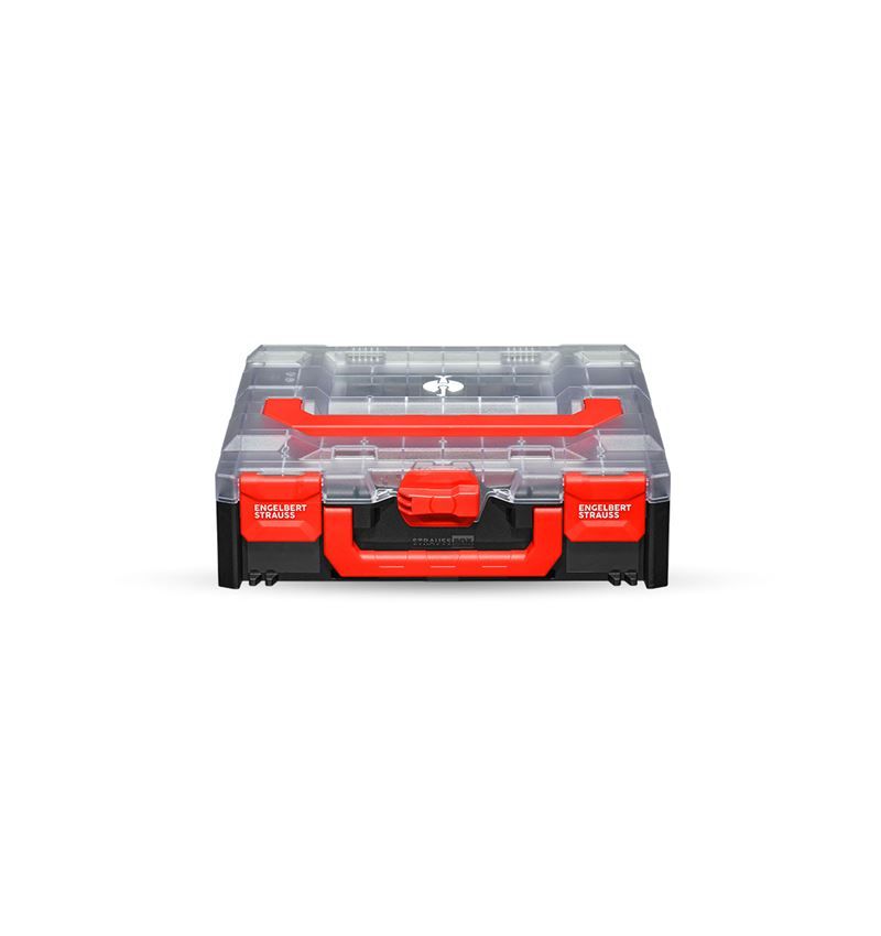 Tool Cases: STRAUSSbox 118 midi + transparent/black