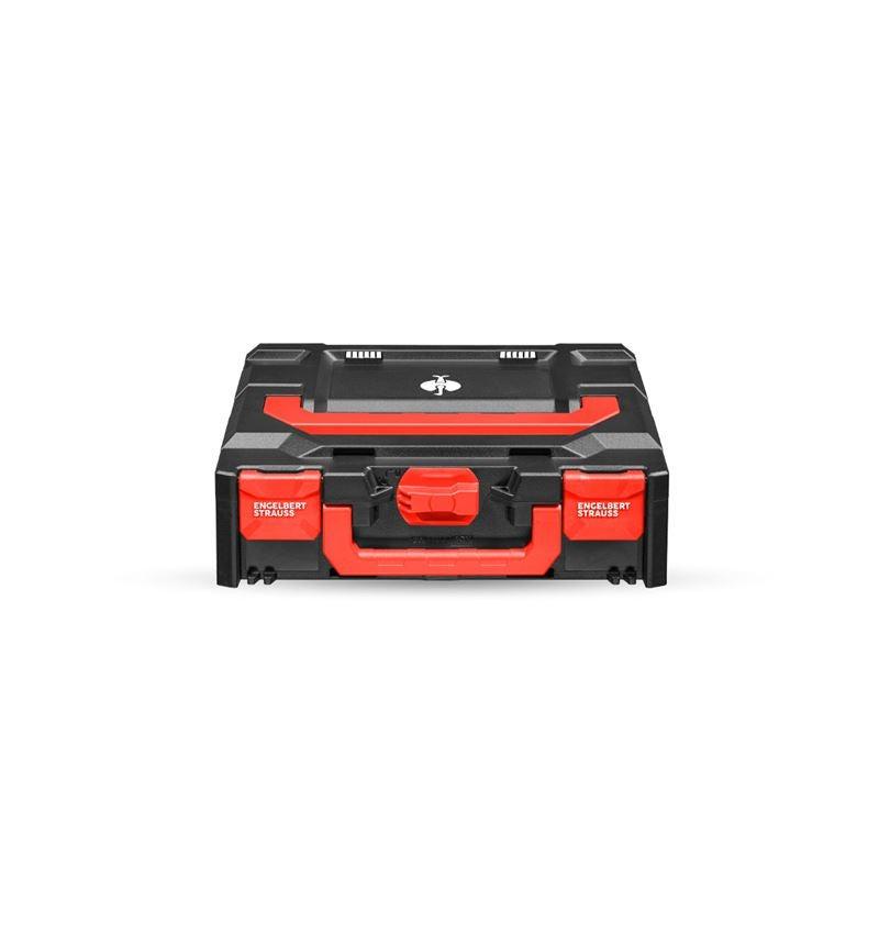 Tool Cases: STRAUSSbox 118 midi + black/red