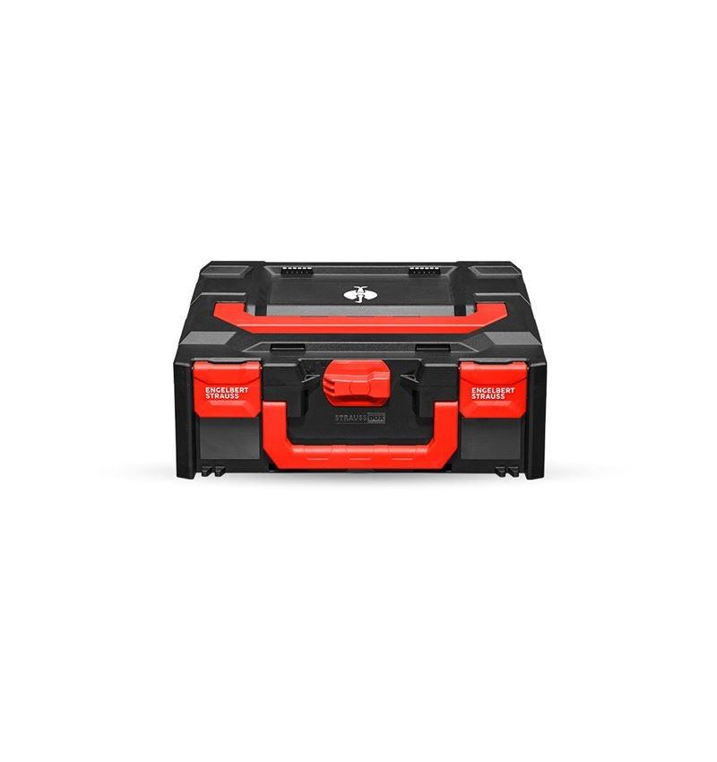 Tool Cases: STRAUSSbox 145 midi + black/red