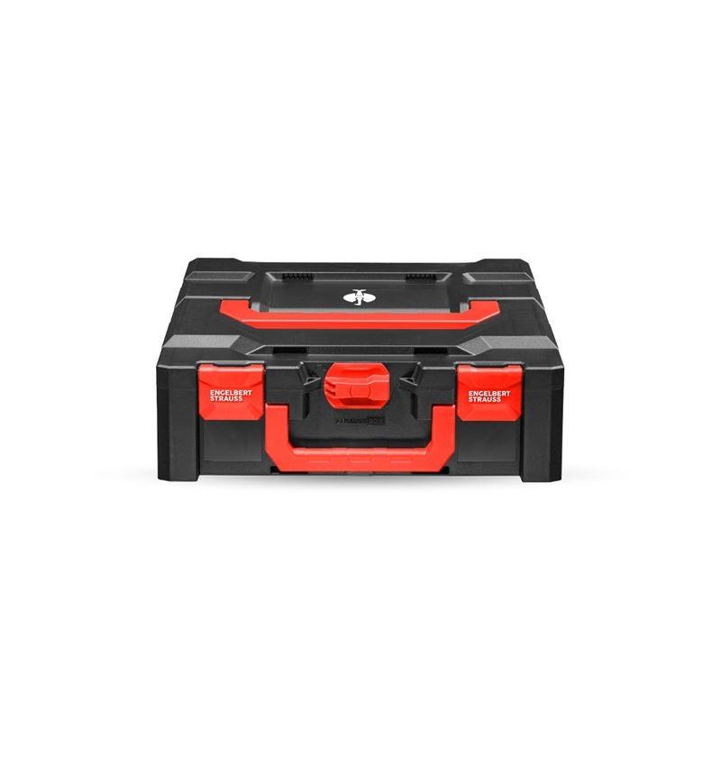 Tool Cases: STRAUSSbox 145 midi+ + black/red