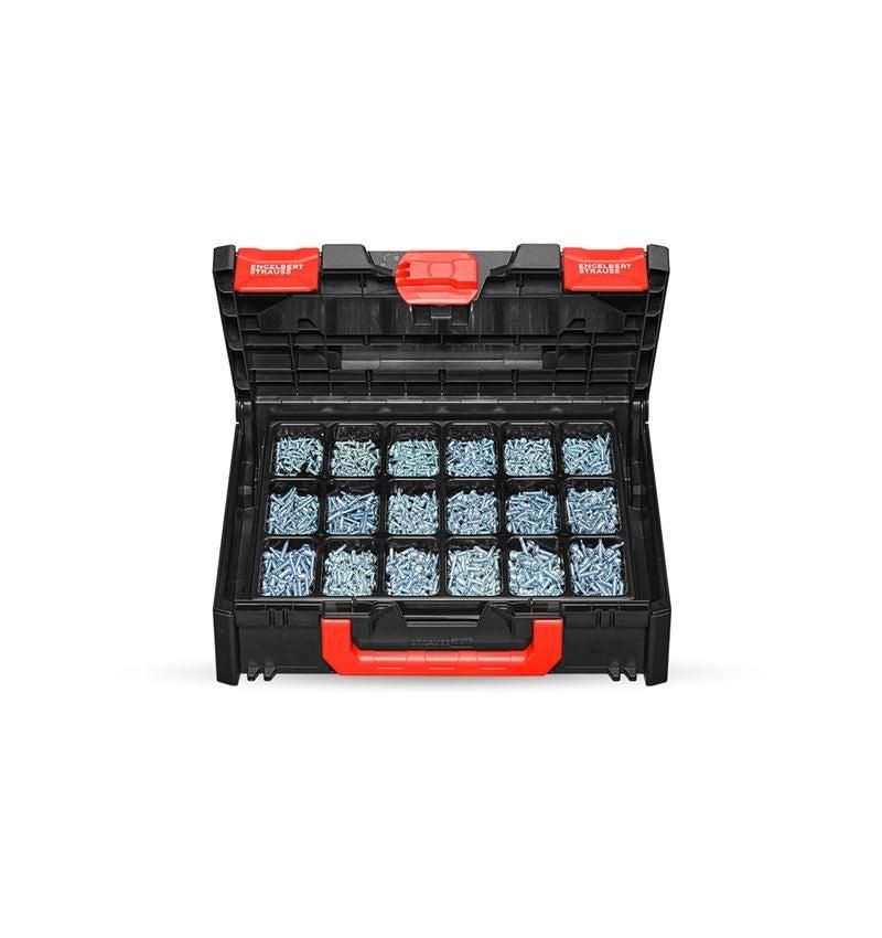 Screws: Drilling screws, DIN 7504 M-H STRAUSSbox 118 midi