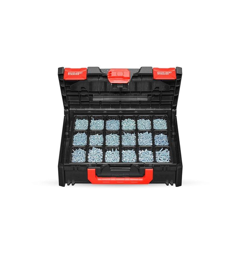 Screws: Sheet metal screws DIN 7981 galvanised STRAUSSbox