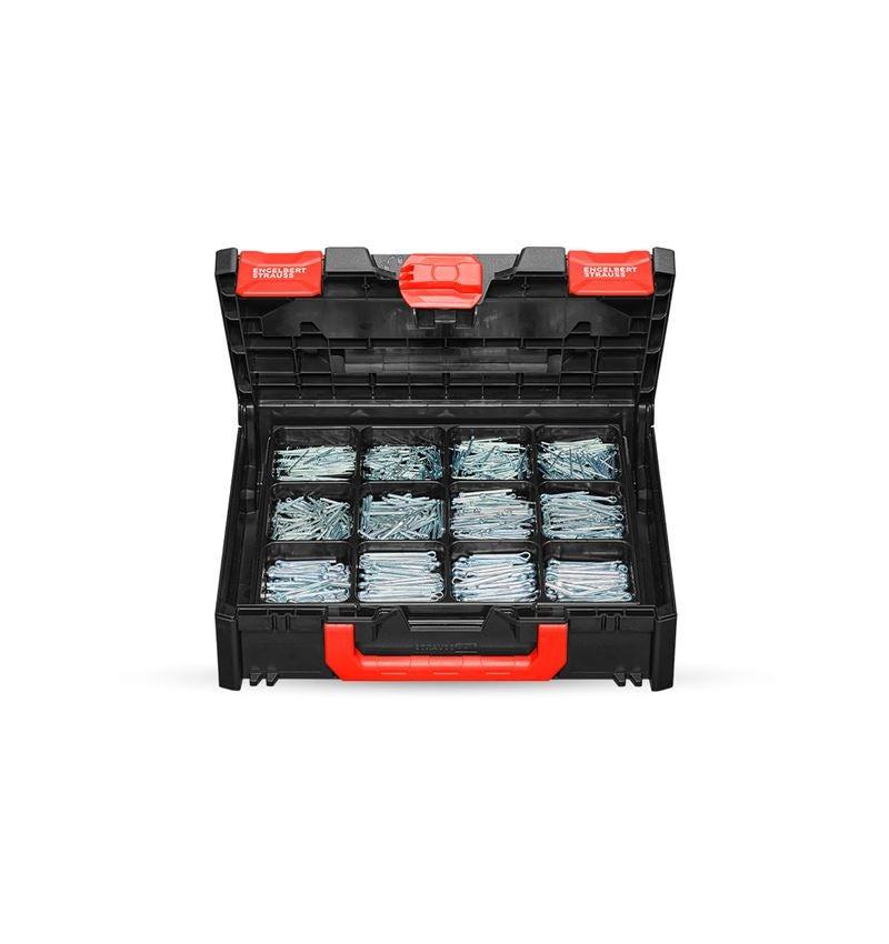 Assorted small parts: Splint assortment DIN 94 in STRAUSSbox 118 midi