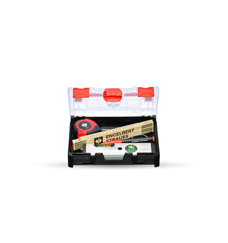 Tool Cases: Measuring tool set in STRAUSSbox mini