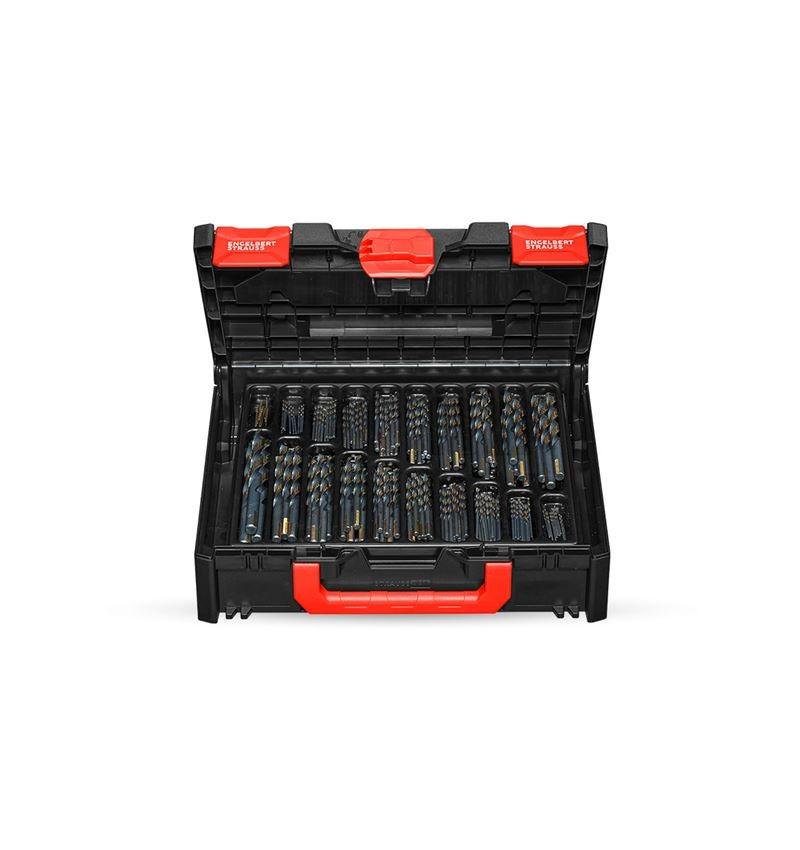 Drills: HSS-G metal spiral drill range turbo in a box