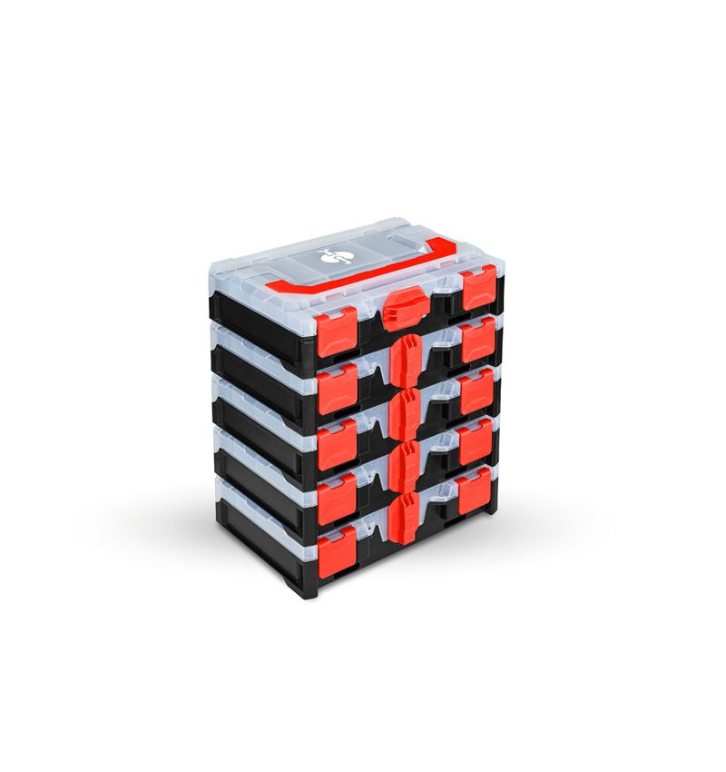 Tool Cases: STRAUSSbox mini set of 5 for 4
