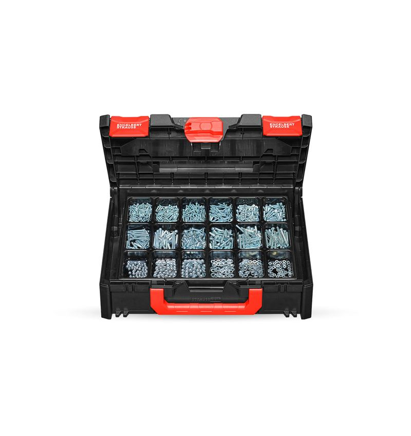 Screws: Threaded screws ISO 1207 in STRAUSSbox 118 midi