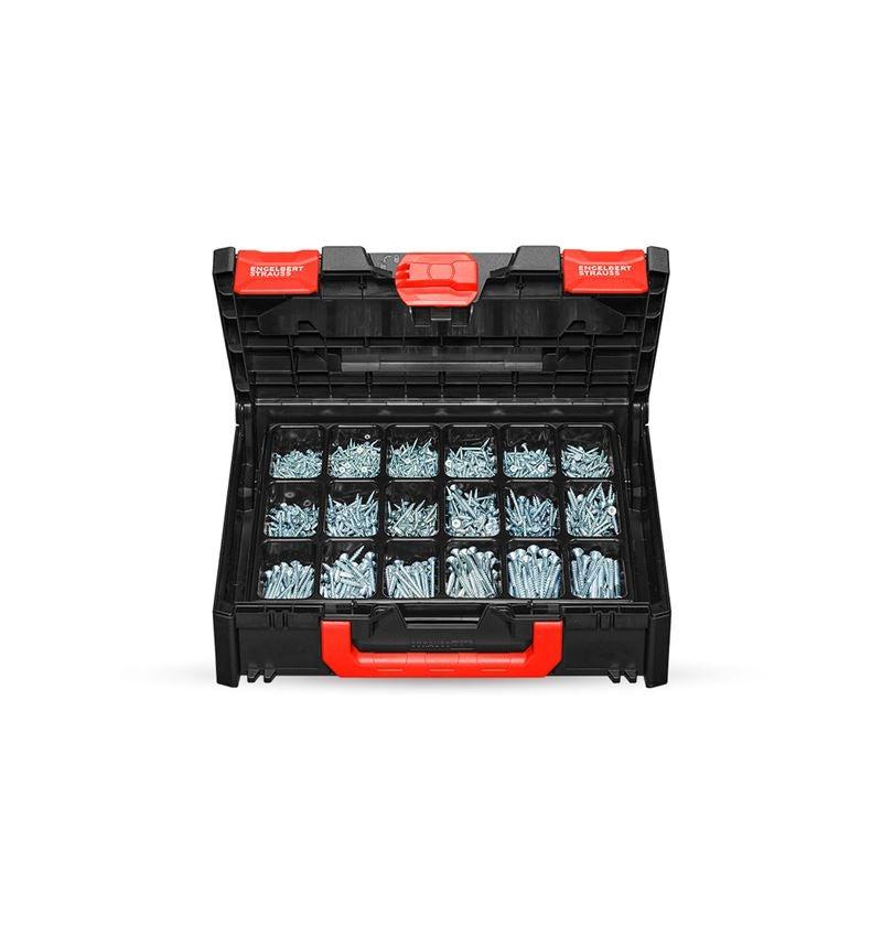 Screws: Universal screw plus galvanised in STRAUSSbox midi
