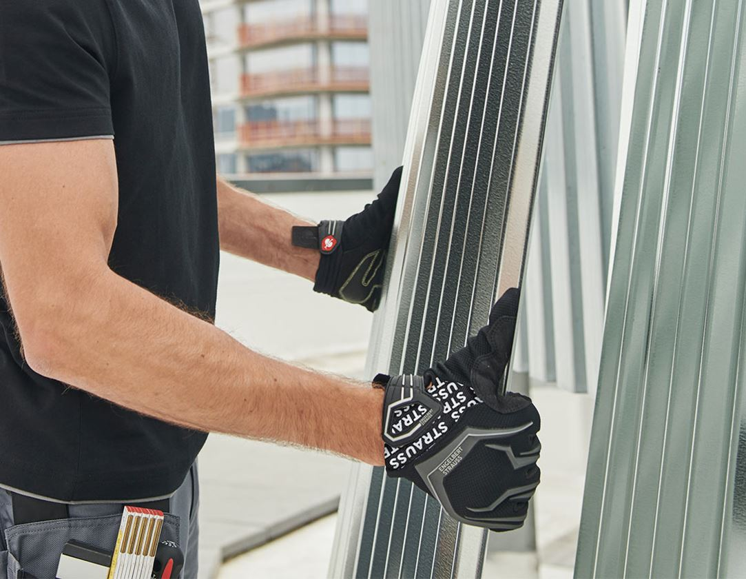 Hybrid: e.s. Mechanic's winter gloves Mirage Ice + black/grey