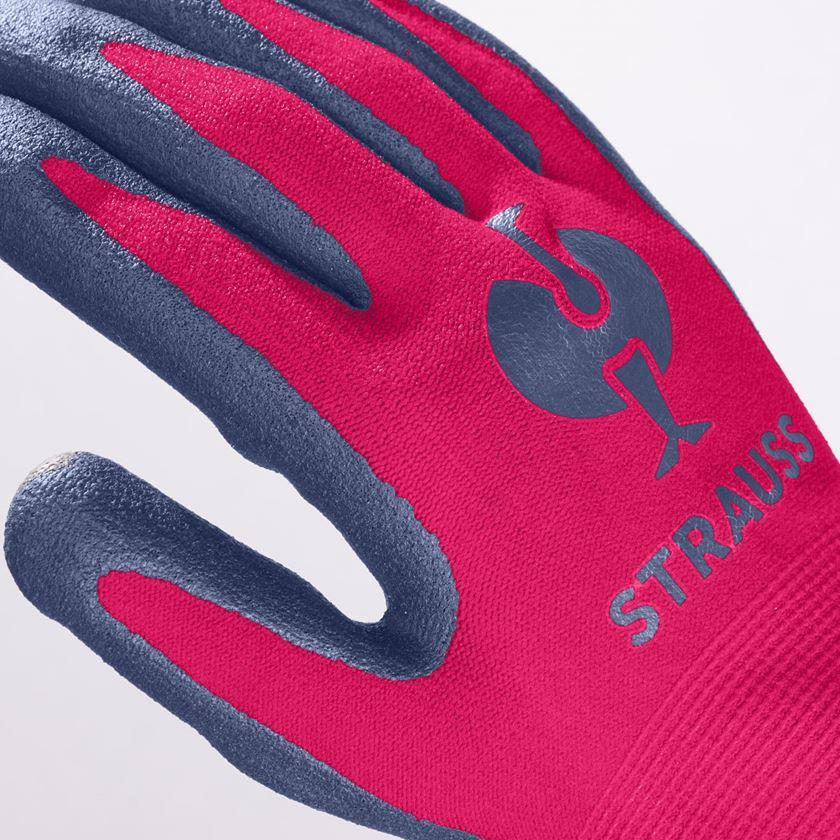 Accessories: e.s. Children's nitrile foam gloves + berry 2