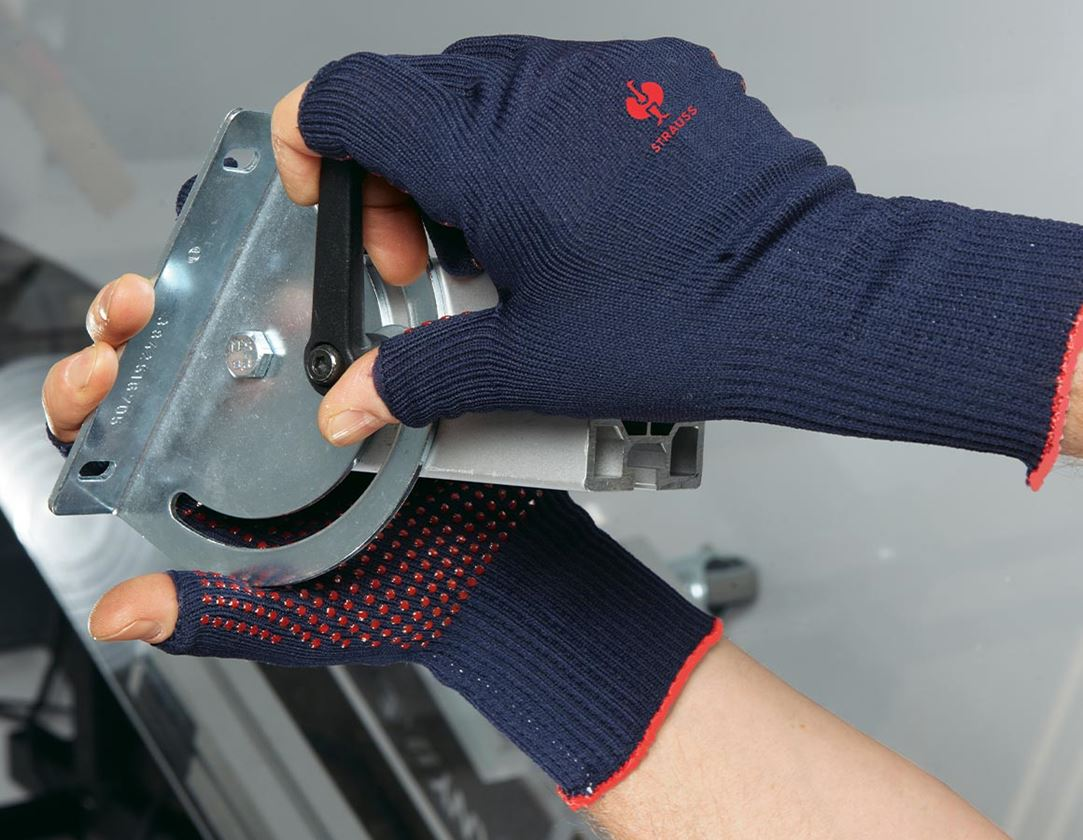 Coated: PVC knitted gloves Rondo Präzision