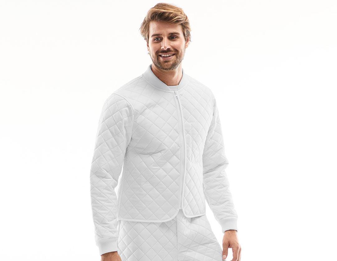 Underwear | Functional Underwear: Thermal jacket Amsterdam + white