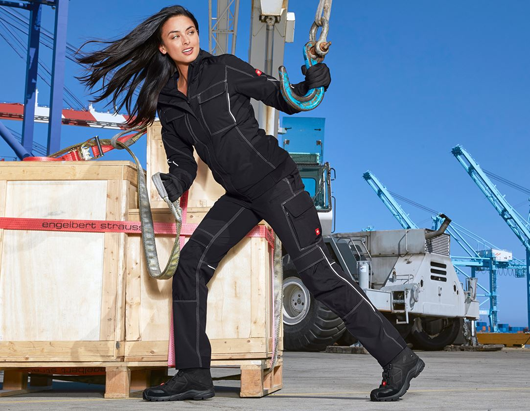 Work Trousers: Functional trousers e.s.dynashield, ladies' + black 1