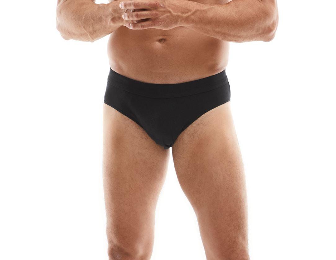 Underwear | Functional Underwear: Briefs Active + black