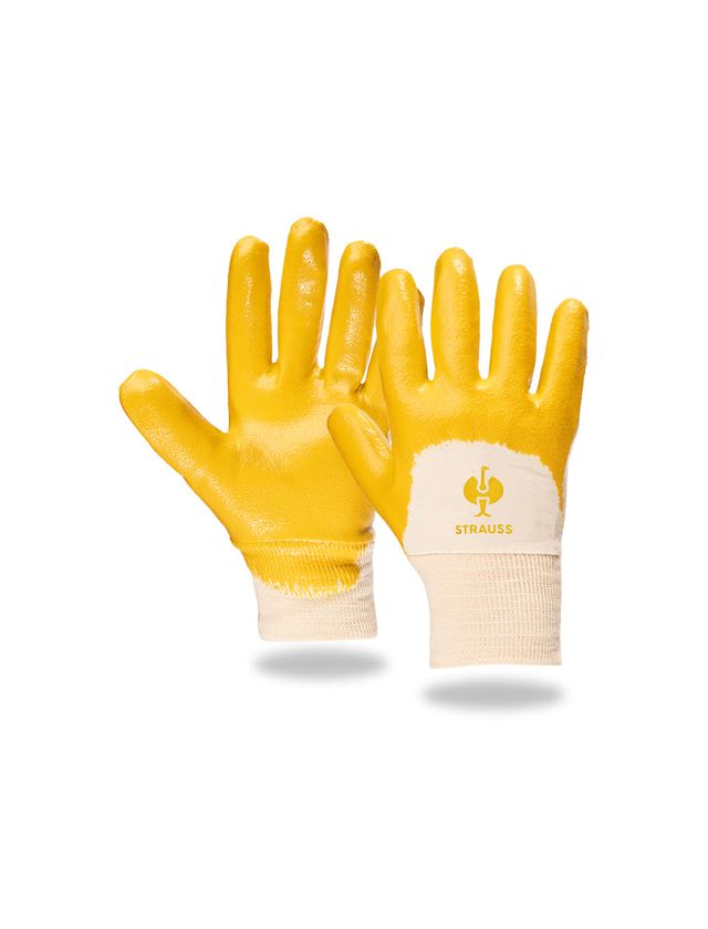 Coated: Nitrile gloves Monza