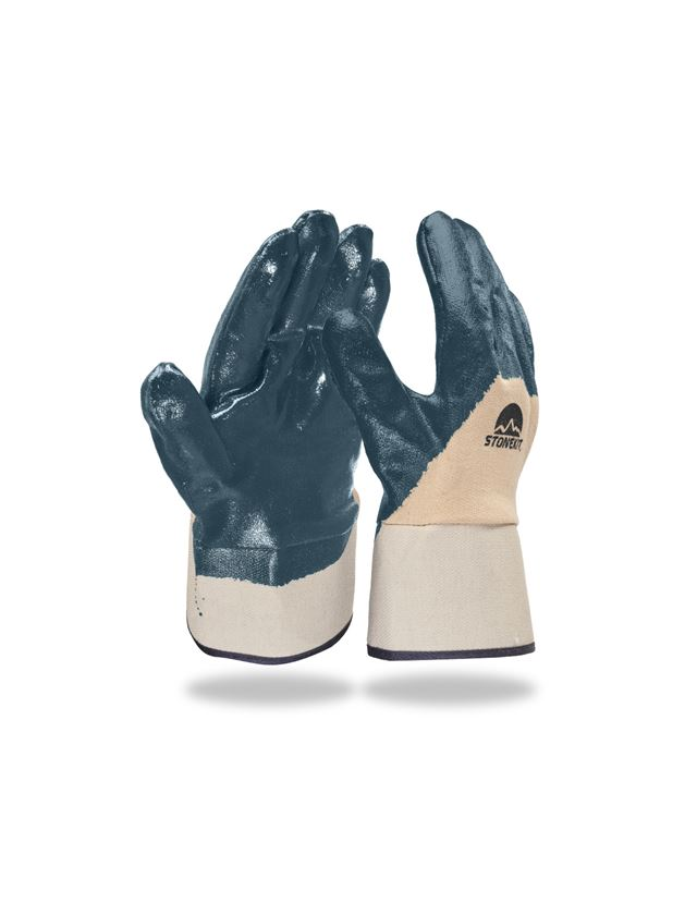 Coated: Nitrile gloves Lith, cuff