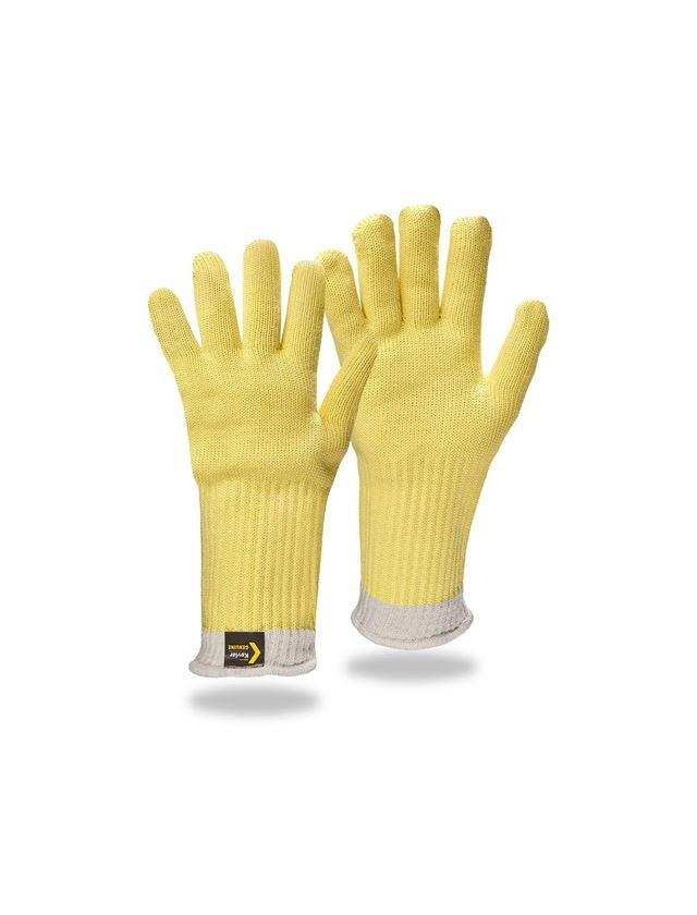 Textile: Aramid knitted gloves Fireblade