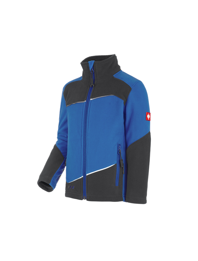 Jackets: Fleece jacket e.s. motion 2020, children's + gentian blue/graphite