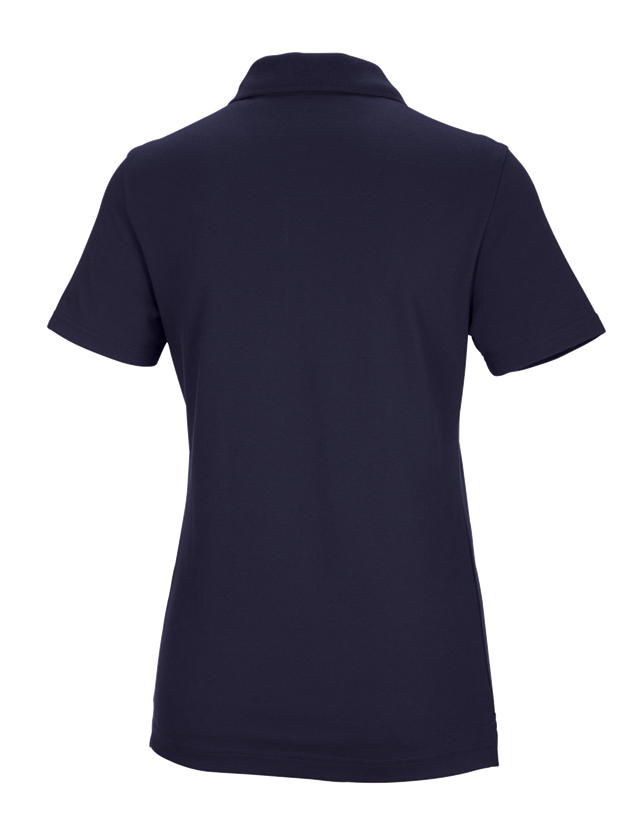 Shirts, Pullover & more: e.s. Functional polo shirt poly cotton, ladies' + navy 2