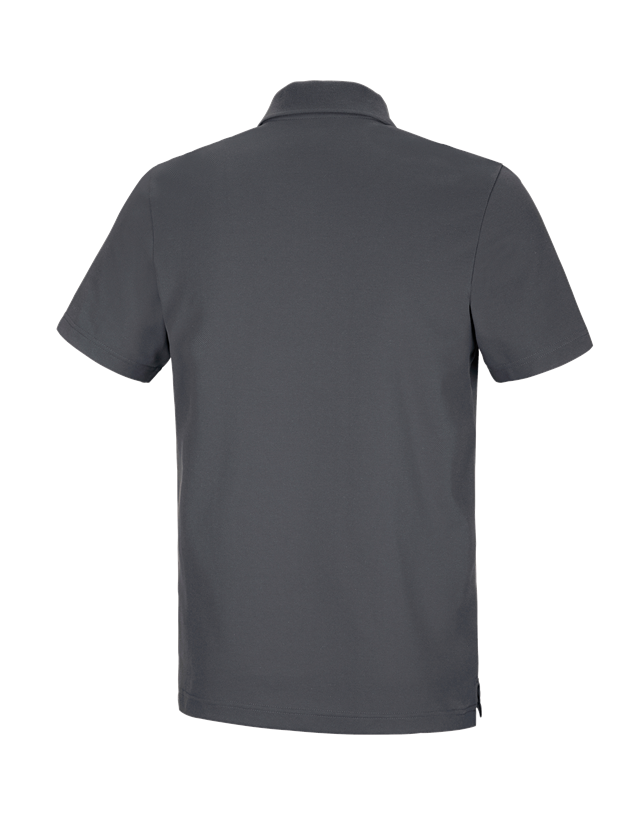 Shirts, Pullover & more: e.s. Functional polo shirt poly cotton + anthracite 1