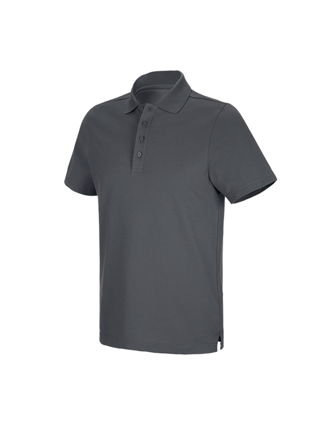 Shirts, Pullover & more: e.s. Functional polo shirt poly cotton + anthracite