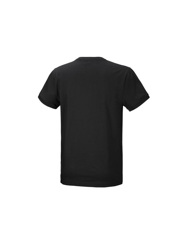 Shirts, Pullover & more: e.s. T-shirt cotton stretch + black 3