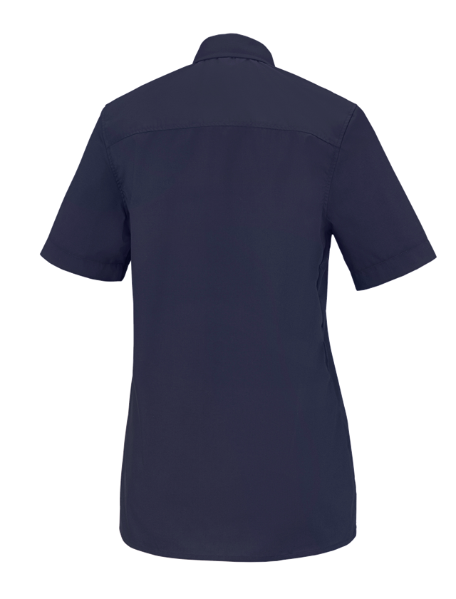 Shirts, Pullover & more: e.s. Service blouse short sleeved + navy 1