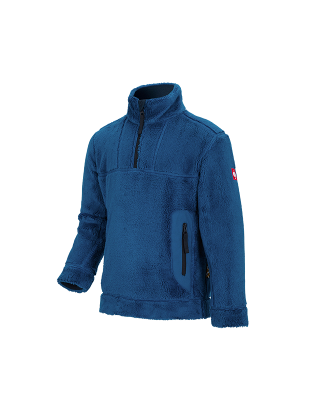Shirts, Pullover & more: Troyer Highloft e.s.motion 2020, children's + atoll/navy