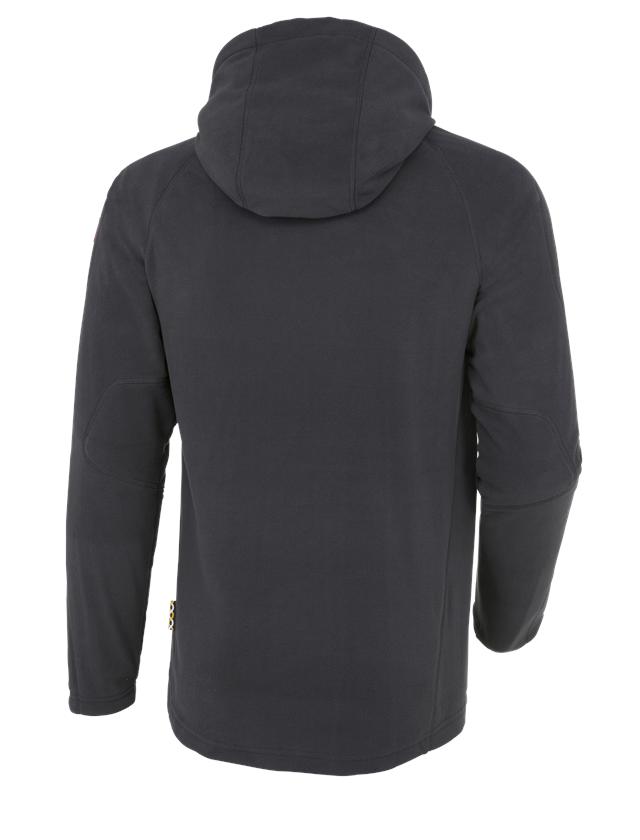 Work Jackets: Hooded fleece jacket e.s. motion 2020 + graphite 2