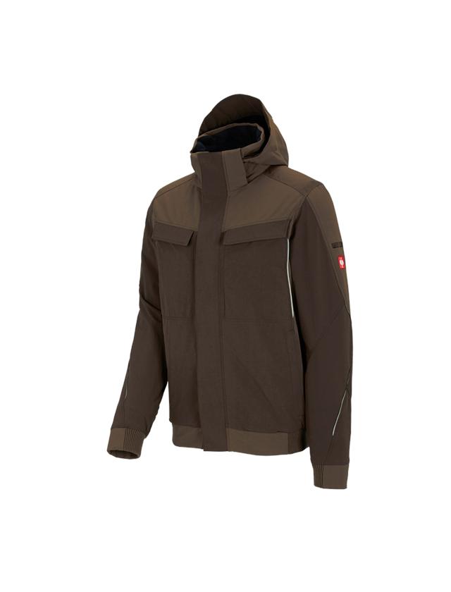 Work Jackets: Winter functional jacket e.s.dynashield + hazelnut/chestnut