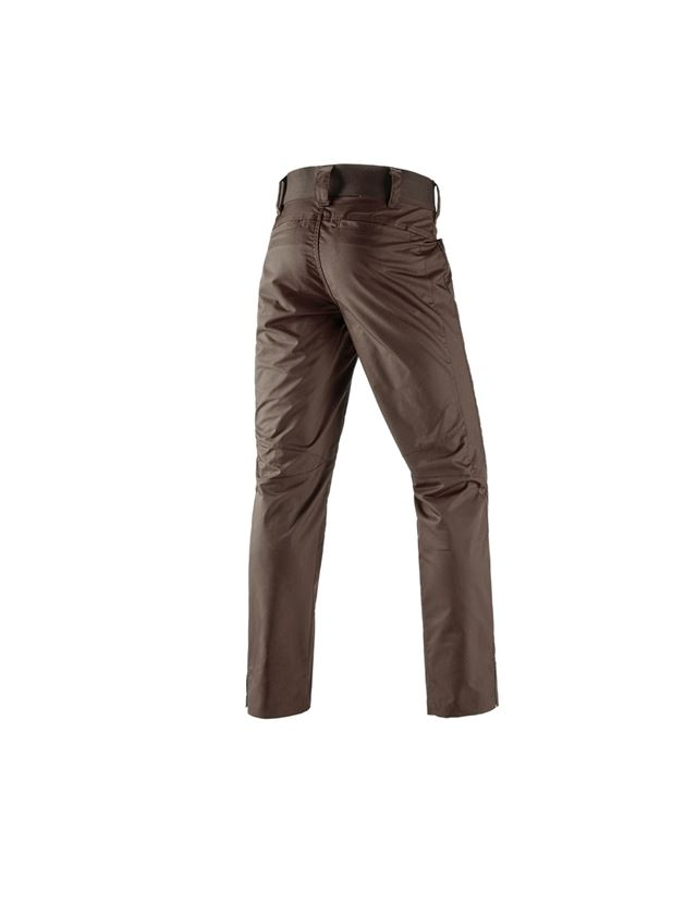 Work Trousers: e.s. Trousers base, men's + chestnut 1
