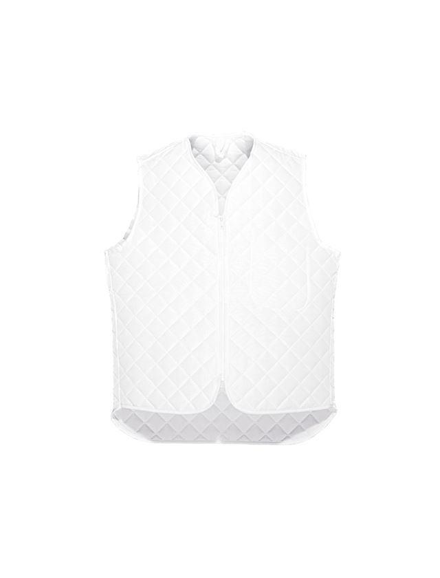Underwear   Functional Underwear: Thermal bodywarmer Haag + white