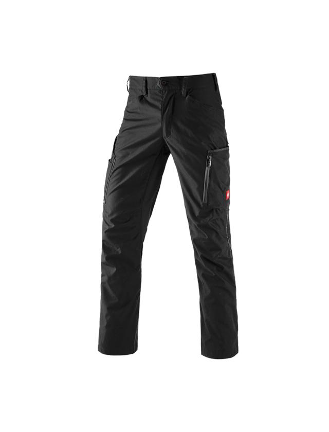 Work Trousers: Trousers e.s.vision, men's + black