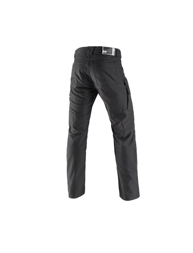 Work Trousers: Worker cargo trousers e.s.vintage + black 2