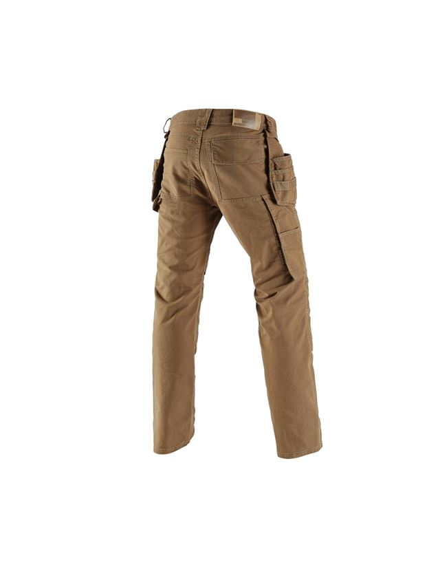 Work Trousers: Holster trousers e.s.vintage + sepia 1