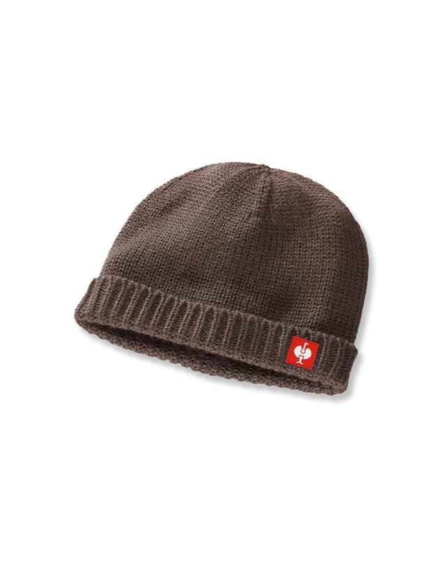 Accessories: Knitted cap e.s.roughtough + bark