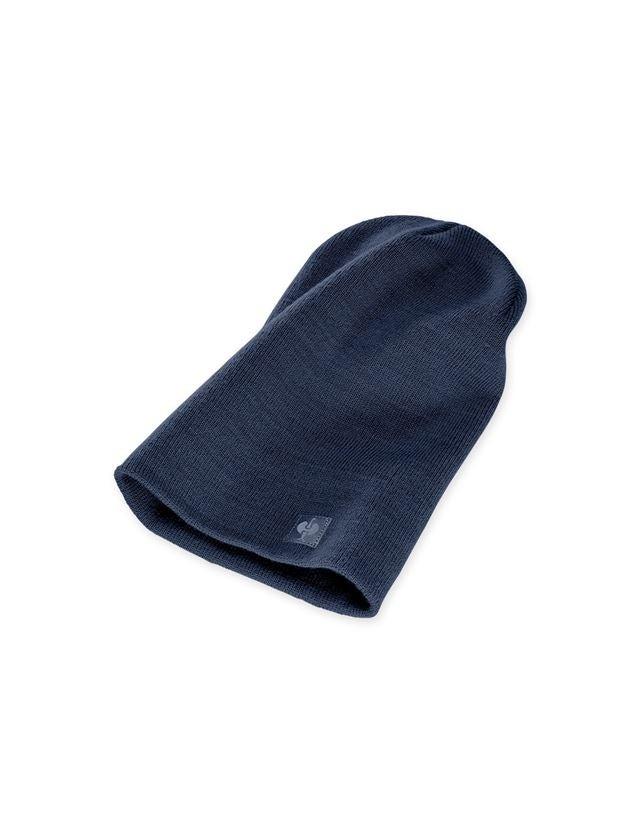Accessories: Knitted cap e.s.motion ten + slateblue