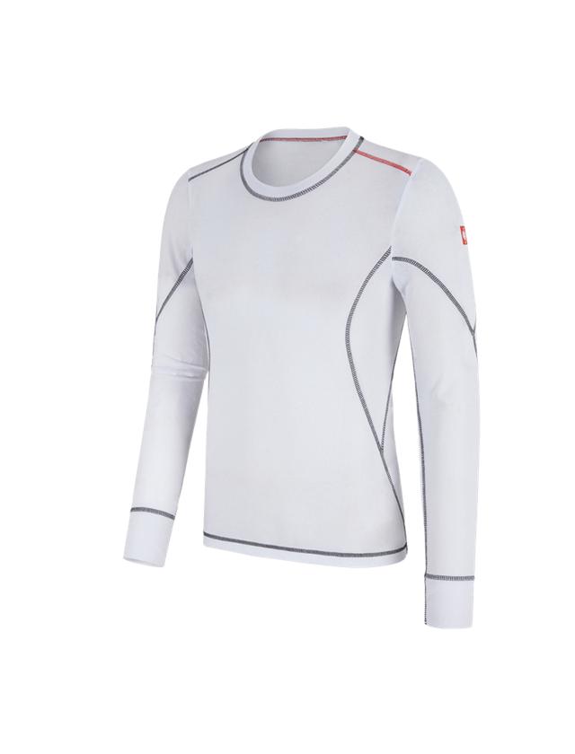 Underwear | Functional Underwear: e.s. functional-longsleeve basis-light + white
