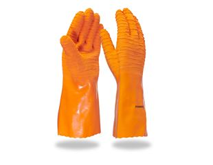 Latex gloves, extra long