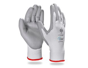 e.s. PU gloves recycled, 3 pairs