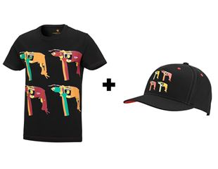 Promotional set: e.s.T-Shirt Pop Art+FREE Cap