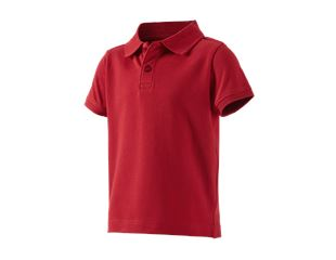 e.s. Polo shirt cotton stretch, children's