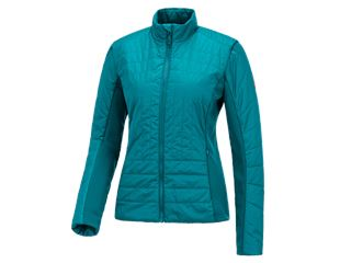 e.s. Function quilted jacket thermo stretch,ladies